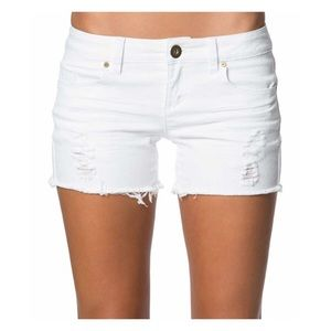 O'Neill Scout white denim shorts